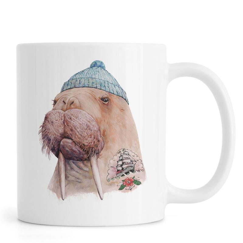Tatooed Walrus -Tasse