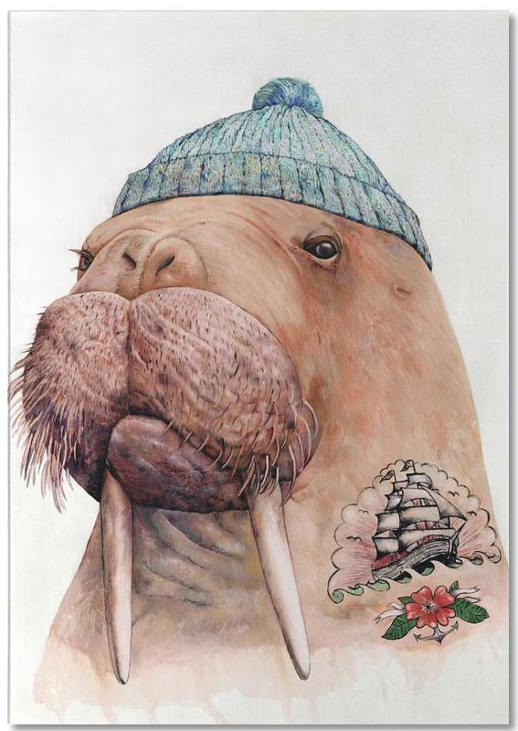 Tatooed Walrus Notepad