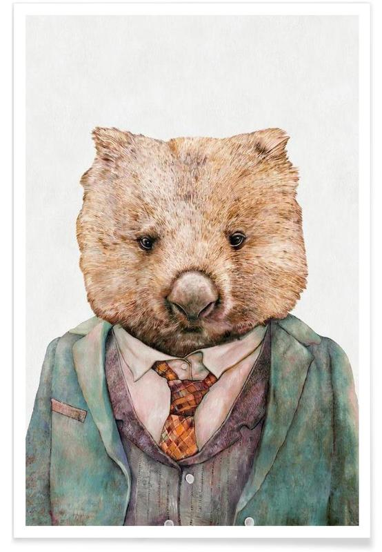 Créatures et hybrides, Wombat affiche