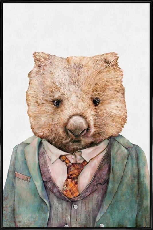 Wombat Framed Poster