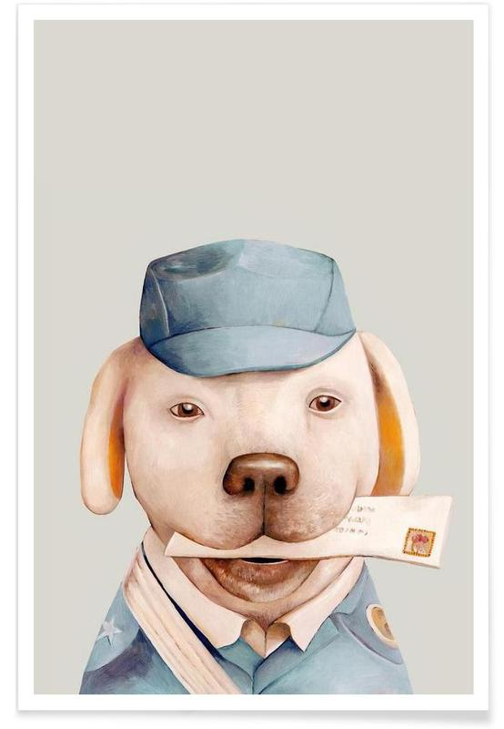 Créatures et hybrides, Delivery Dog affiche