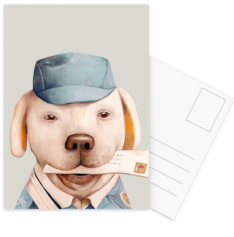 Wezens en kruisingen, Delivery Dog ansichtkaartenset