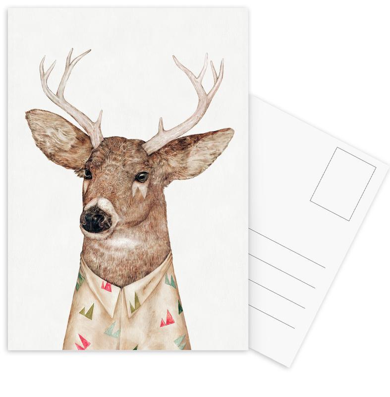 Cerfs, White Tailed Deer cartes postales