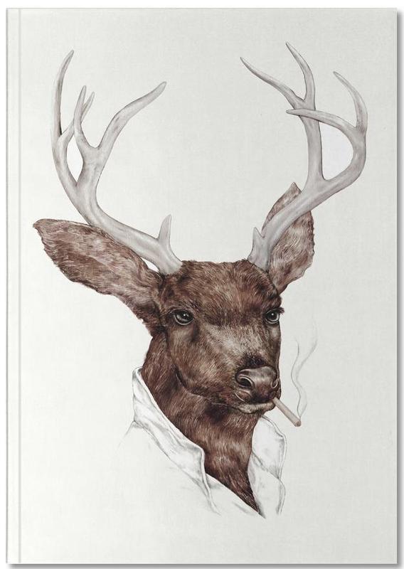 Cerfs, Smocking Buck Notebook