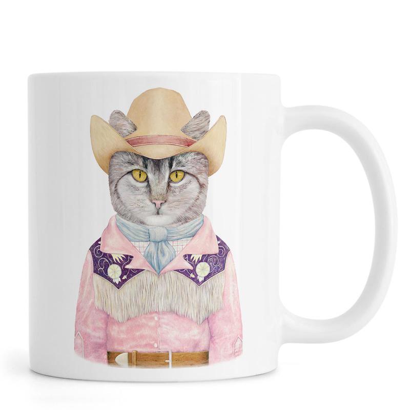 Country Cat mug