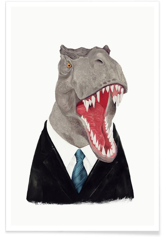 Dinosaurussen, Wezens en kruisingen, T-Rex poster