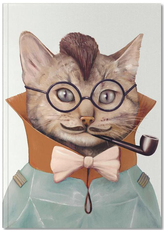 Eclectic cat Notebook