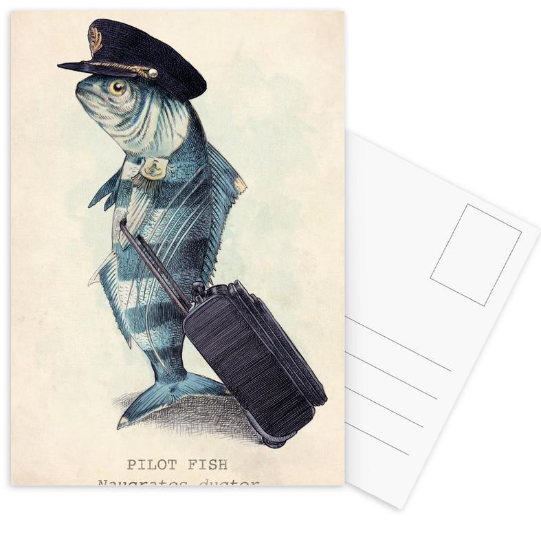 The Pilot Postcard Set
