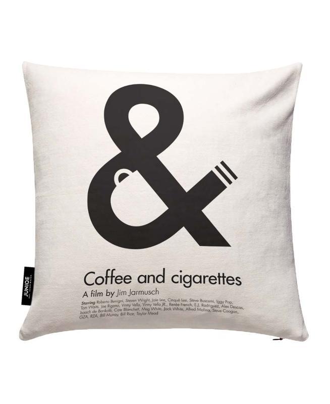 Coffee&Cigarettes Cushion Cover