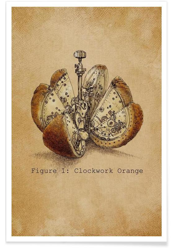 A Clockwork Orange -Poster