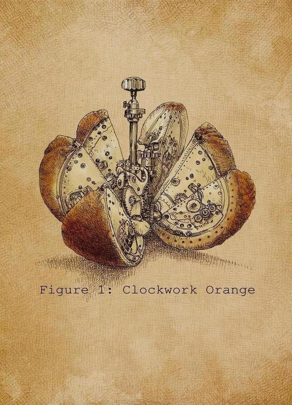 A Clockwork Orange toile