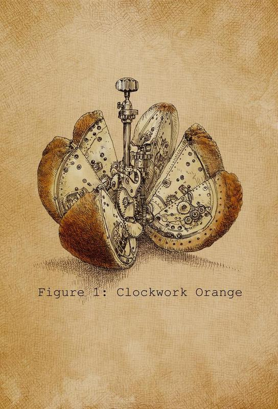 A Clockwork Orange Aluminium Print