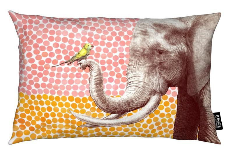 Elephants, Nursery & Art for Kids, Elephant and Bird