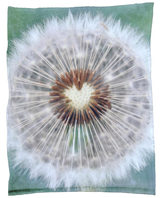 Dandy Heart Fleece Blanket