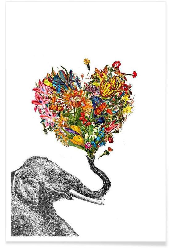 The Happy Elephant affiche