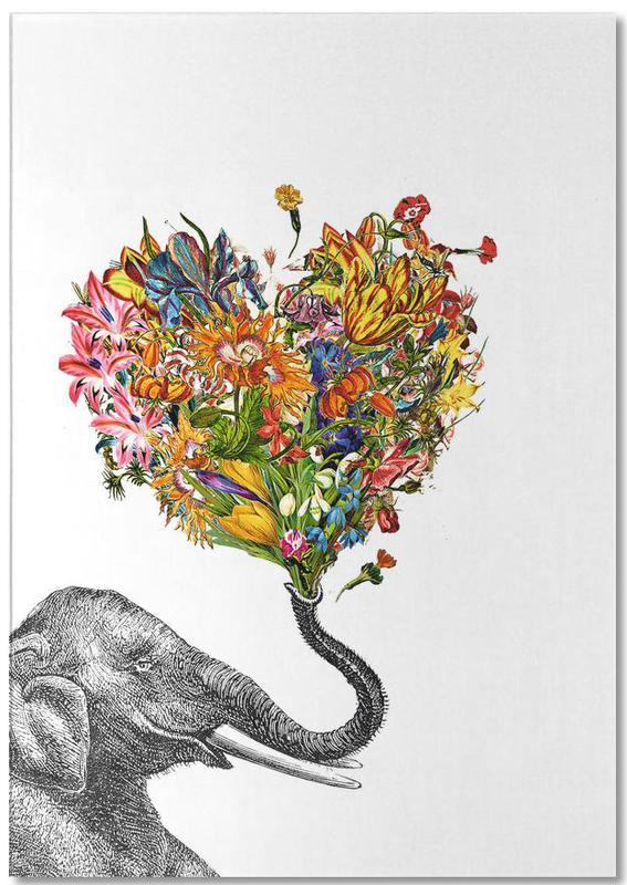 The Happy Elephant Notepad