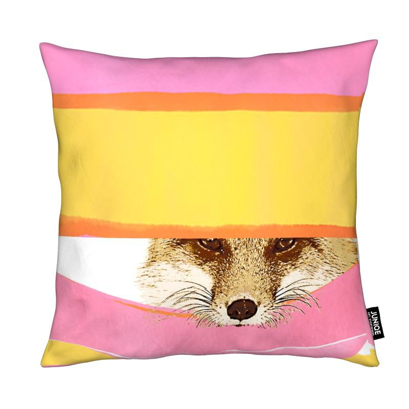Daydreaming Fox coussin