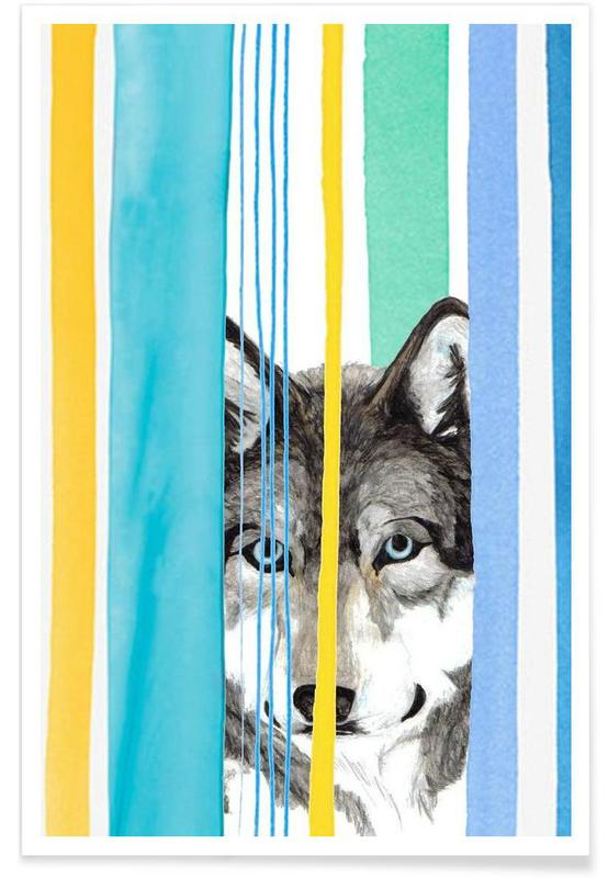 Loups, Dreamy Wolf affiche