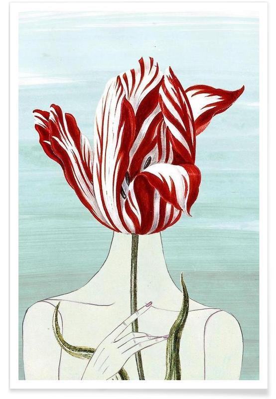 Tulpen, Porträts, In the Garden -Poster