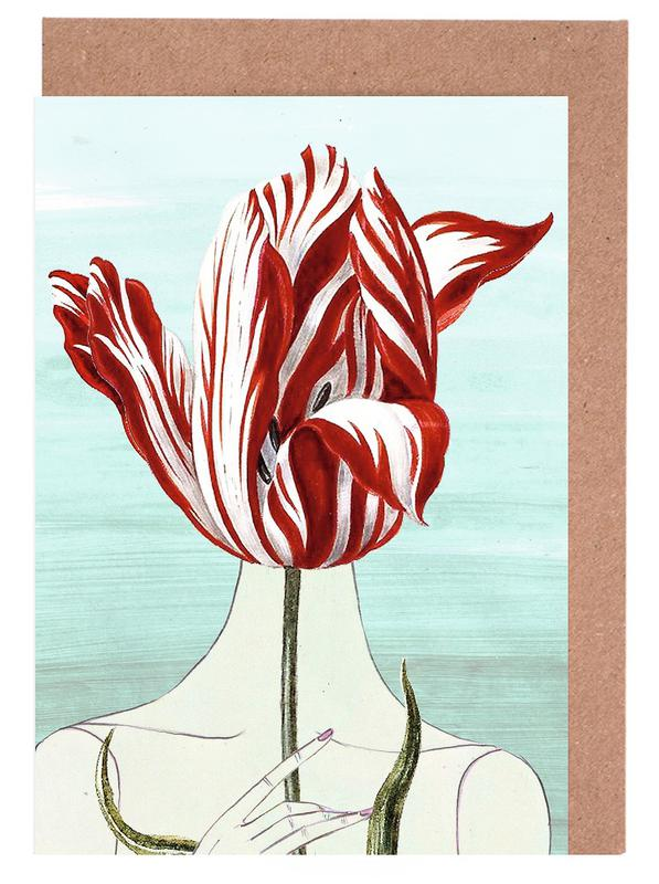 Tulips, Portraits, In the Garden Greeting Card Set