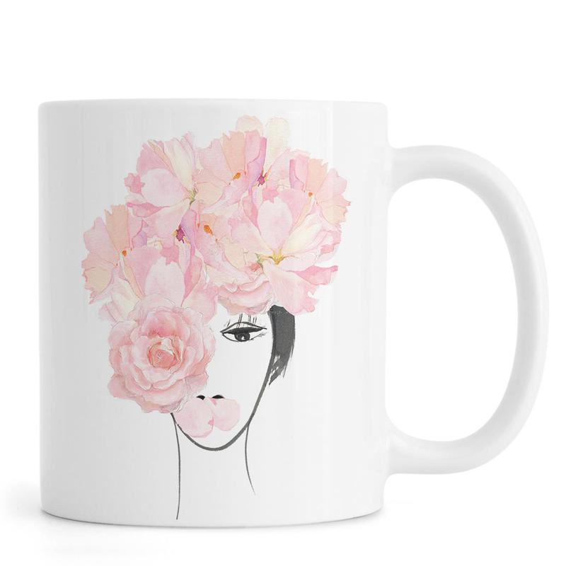 Look through the Flowers 3 Mug