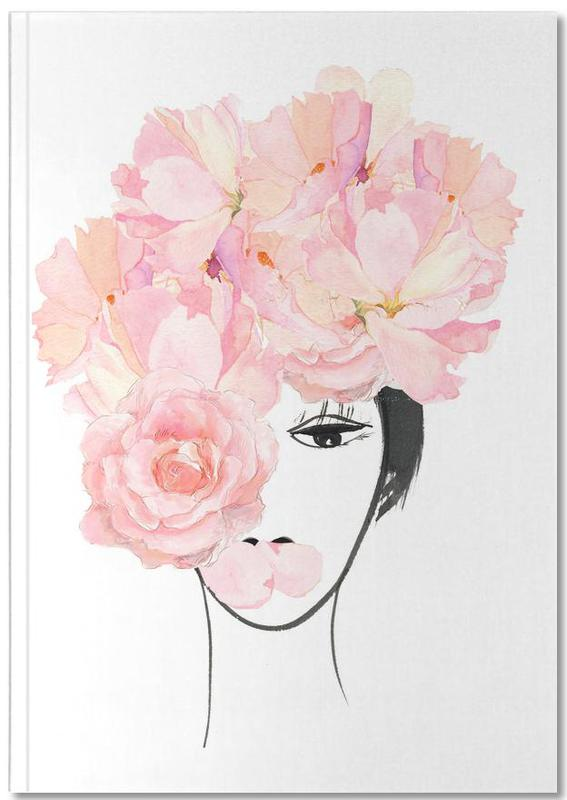 Roses, Portraits, Look through the Flowers 3 Notebook
