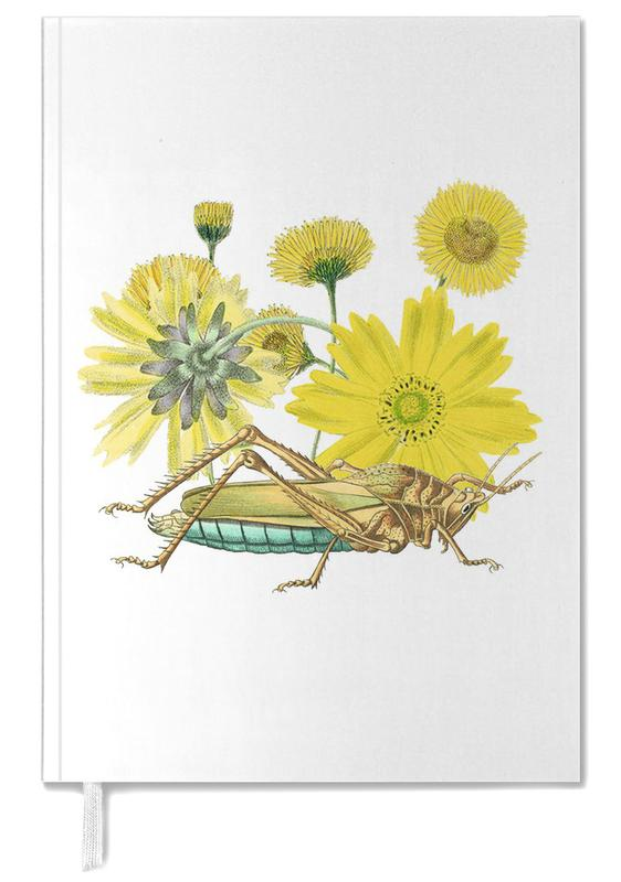 Yellow Flowers and Grasshopper -Terminplaner
