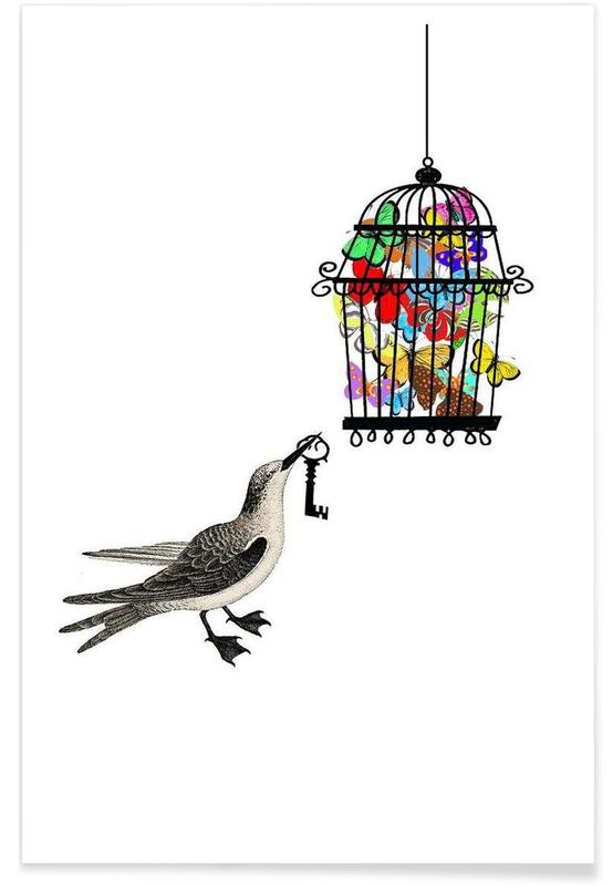 , The bird has the key affiche