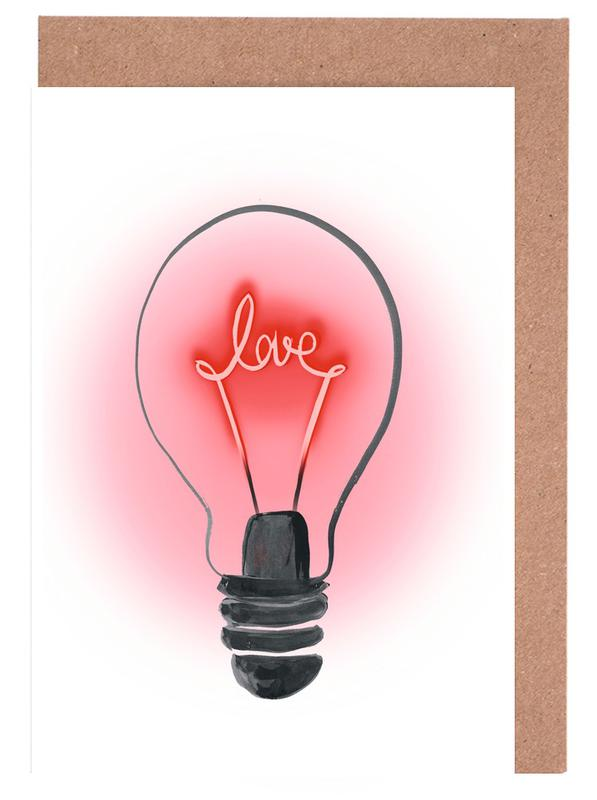 Love And Light Greeting Card Set
