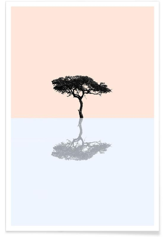 Trees, Nature Color 2 Poster