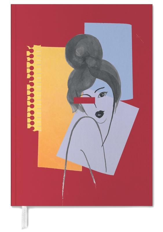 Illustrations de mode, She Loves Red Lipstick agenda