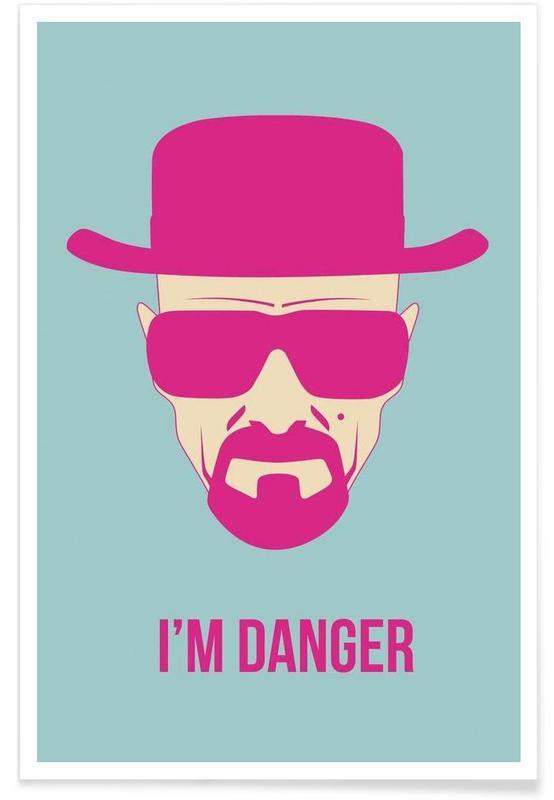 Séries TV, I'm Danger Poster 2 affiche