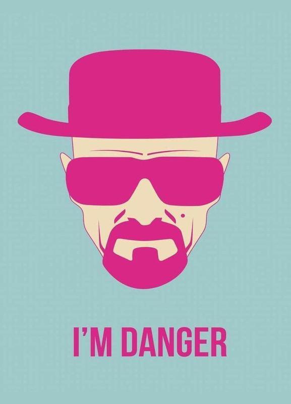 I'm Danger Poster 2 -Leinwandbild