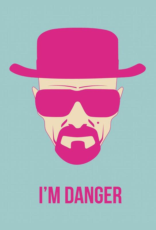 I'm Danger Poster 2 Acrylic Print