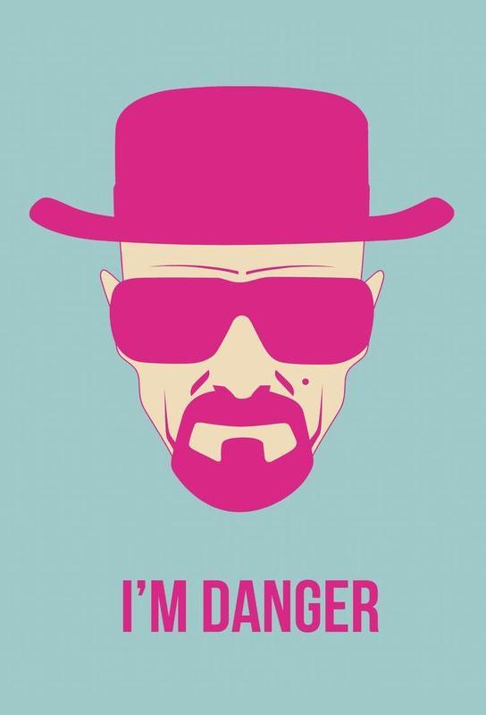 I'm Danger Poster 2 -Alubild