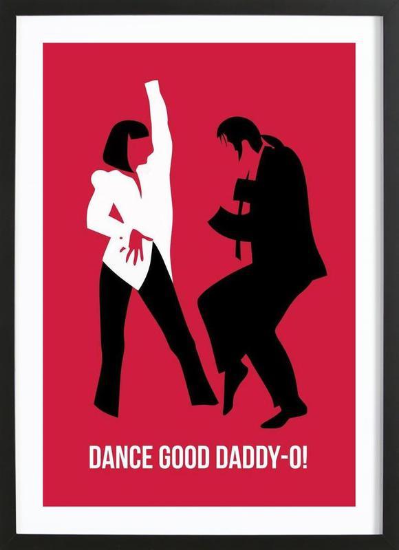 Dance Good Poster 2 Framed Print