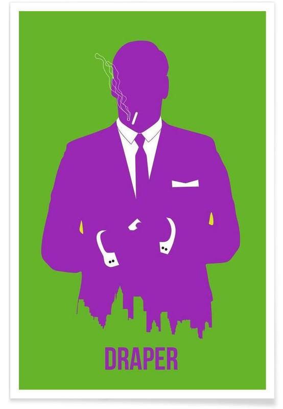 Séries TV, Draper Poster 1 affiche