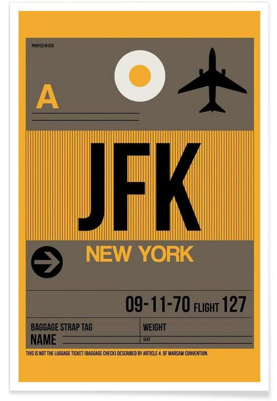 JFK-New York Poster