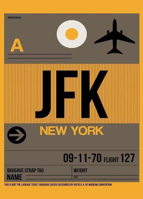 JFK-New York Canvas Print