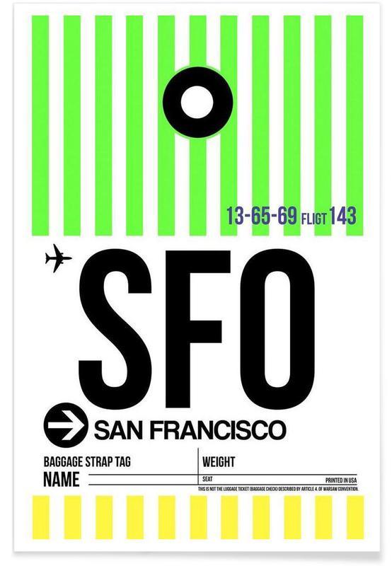 SFO-San Francisco affiche