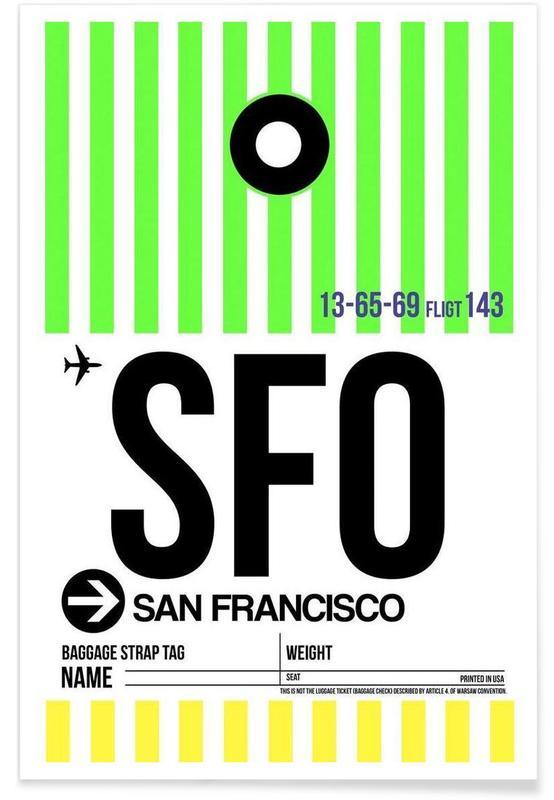 SFO-San Francisco -Poster