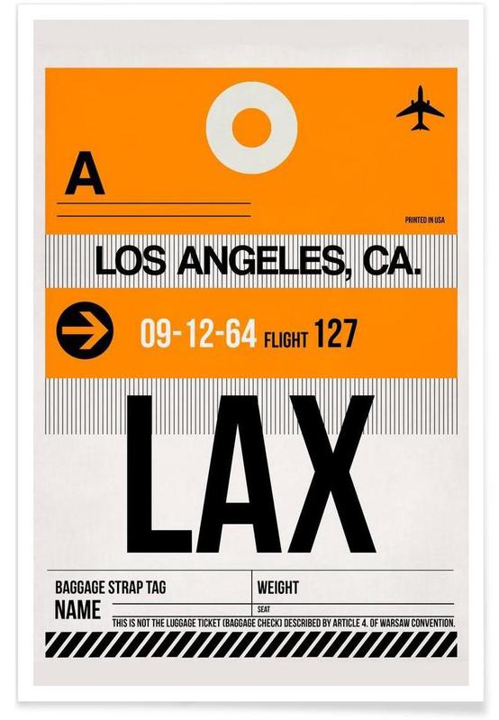 LAX-Los Angeles affiche