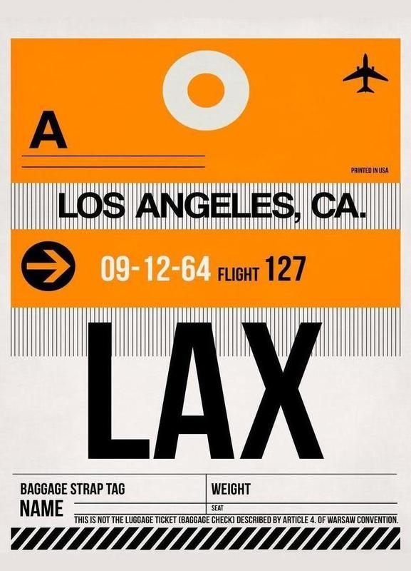 LAX-Los Angeles Canvas Print