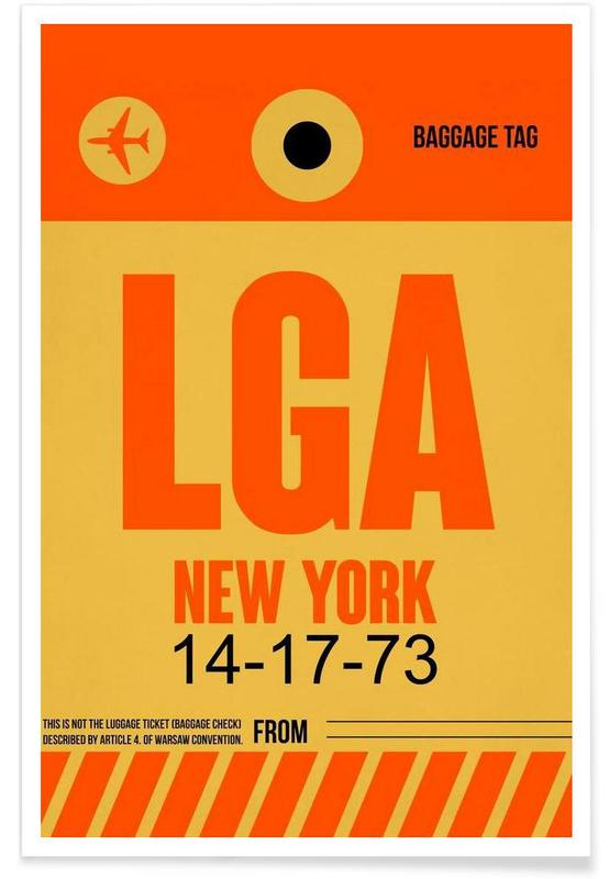 LGA-New York Poster