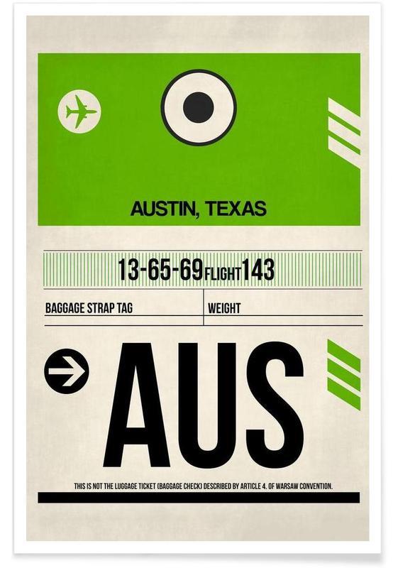 Voyages, AUS-Austin I affiche