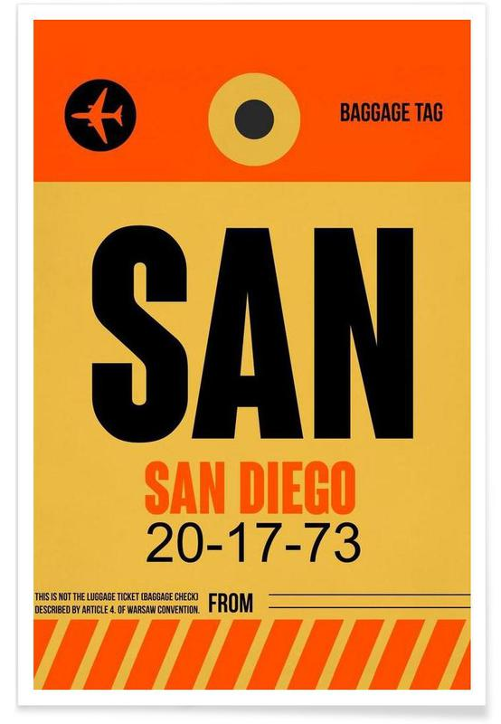Voyages, SAN-San Diego affiche