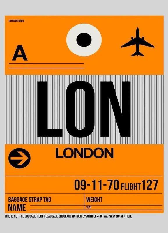 LON-London canvas doek
