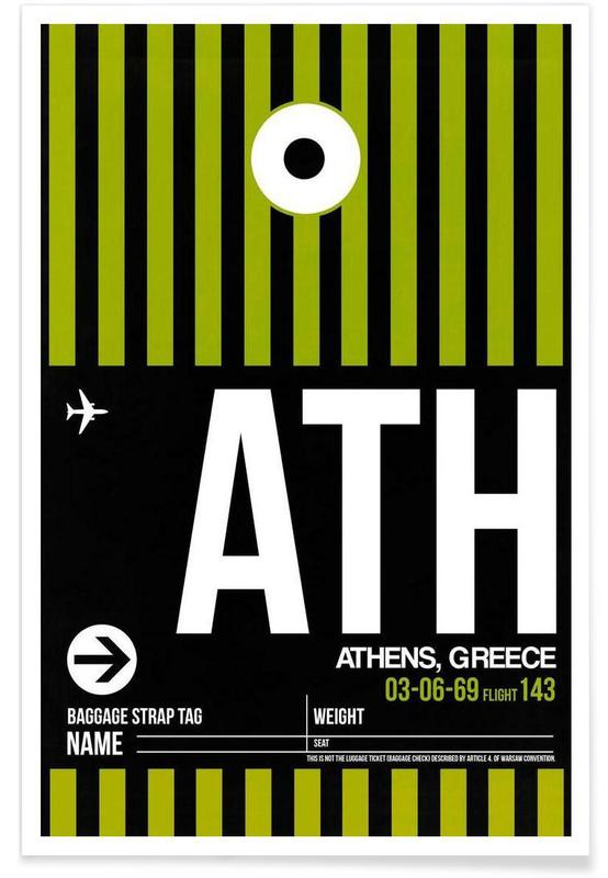 Voyages, ATH-Athen affiche