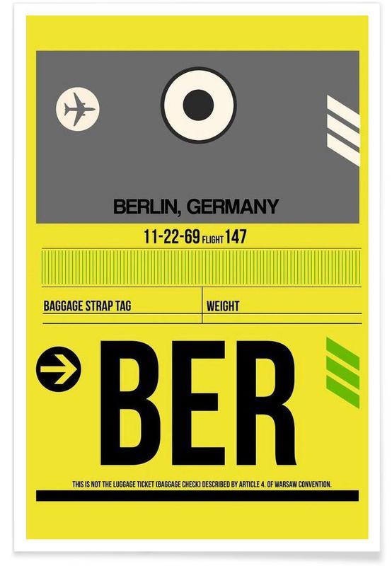 Berlin, Voyages, BER-Berlin affiche