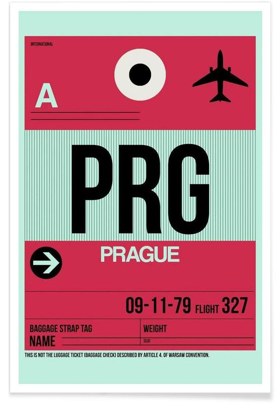 Voyages, PRG-Prag affiche